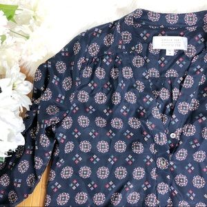 Stitch fix Amour Vert Alessandro silk VNeck blouse